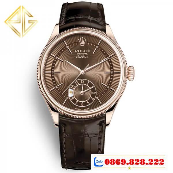 Đồng Hồ Rolex Siêu Cấp 1:1 Cellini Dual Time